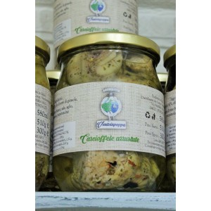carciofi interi arrosto 580ml