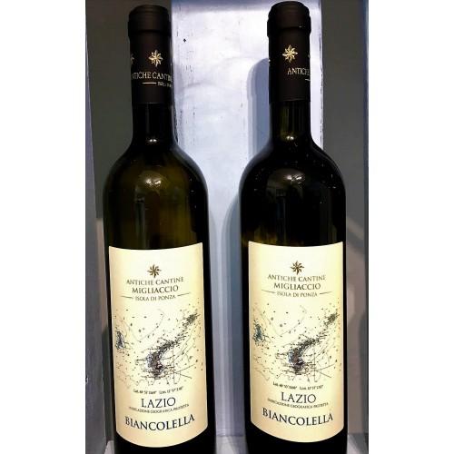 """Biancolella vinificato in purezza  """"Antiche cantine Migliaccio"""""""