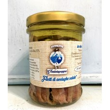 Filetti di Acciughe salate in olio di Oliva 200gr